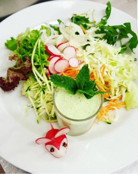 Salsa verde per l'insalata