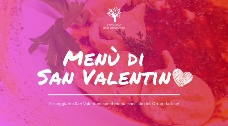 menu vegano di san valentino 2019