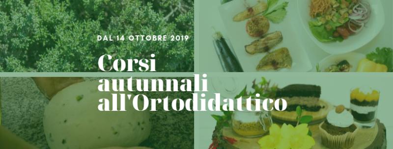 corsi autunno 2019 ortodidattico