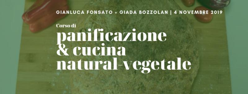 Corso di panificazione e cucina natural-vegetale Finger bread 4 novembre 2019