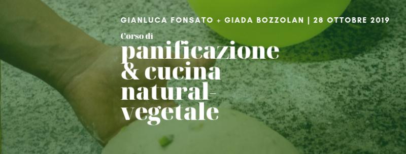 Corso di panificazione e cucina natural-vegetale Pizza e focaccia
